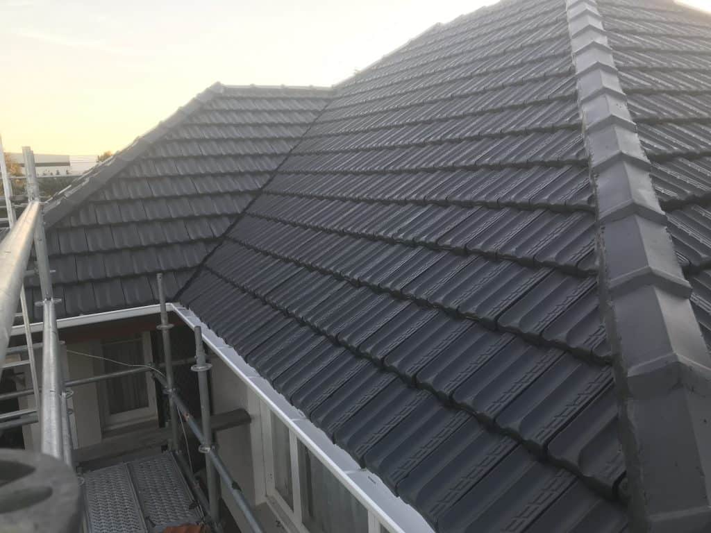 Clay roof repair
